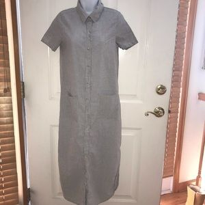 BBG shirt dress light URBAN OUTFITTER pockets